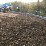 Installing full faced road kerb edgings 2