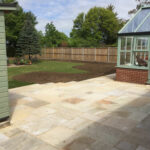 Fossil Mint patio area - Halesworth
