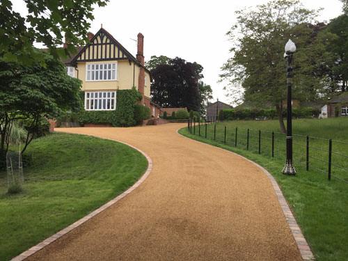 Driveway Reconstruction Fritton Garden Landscaping