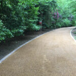 6mm shingle driveway on a hot asphalt base - Fritton