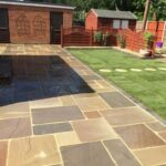 Rajgreen and Autumn Brown Mix Indian sandstone - Hingham