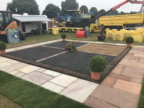 Stand Centre Piece Norfolk Show Garden Landscaping