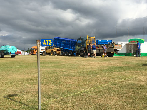 Building The Stand 1 Norfolk Show Garden Landscaping