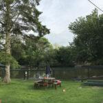 Pond refurbishments (before) - Elm farm wedding Venue Horsham St Faith