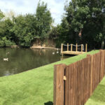 Completed pond reconstruction 4