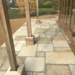 Finished Fossil Mint patio area - Old Buckenham