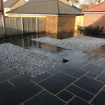 Finished patio area - Norwich