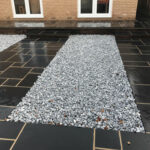 Ice Blue 50mm cobble beds - Norwich