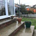 Pond area being trimmed 2 - Chedgrave, Norfolk