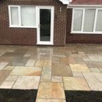 Raveena Indian sandstone patio area 2 - Great Hockham, Norfolk