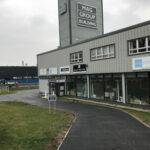 Car park ready for line markings 3 - Norwich