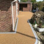 Resin bound pathway completed - Mulbarton, Norfolk