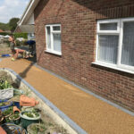 Completing the resin bound pathway - Mulbarton, Norfolk