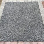 Mixture of Black and Silver Aggregates for our Resin Surface