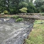 Draining the pond 2 - Norfolk