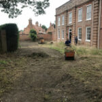 Coltishall landscape being cleared - Norfolk