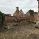 Coltishall landscape being dug over - Norfolk