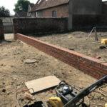 Dwarf retaining wall - Norfolk