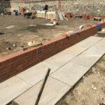 Installing Raj Green patio - Norfolk