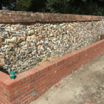 Dwarf retaining wall 2 - Norfolk