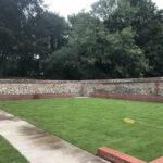 Finished turf area - Norfolk