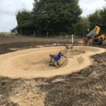 Constructing pond in natural wildlife area - NorfolkConstructing pond in natural wildlife area - Norfolk
