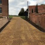 Tarmac and shingle driveway - Forncett, Norfolk