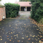 Before starting Resin bound driveway - Norfolk