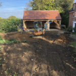 Clearing of the old driveway - Norfolk
