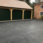 Tarmac base ready for resin aggregate 2 - Norfolk