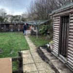 Garden area before - Old Buckenham, Norfolk