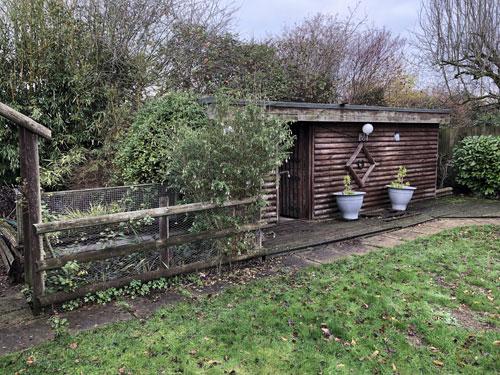 Garden area before 3 - Old Buckenham, Norfolk
