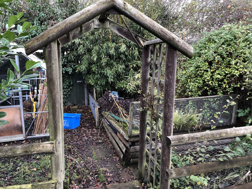 Garden area before 4 - Old Buckenham, Norfolk
