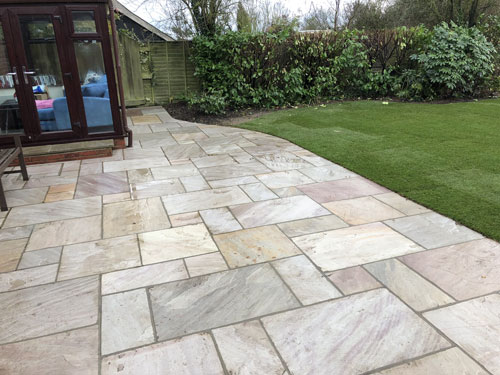 Ravenna patio area - Old Buckenham, Norfolk