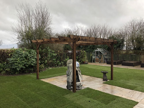 New Pergola - Old Buckenham, Norfolk