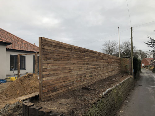 Horizontal fencing - Aylsham