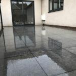 Finished smaller Grey patio area - Aylsham