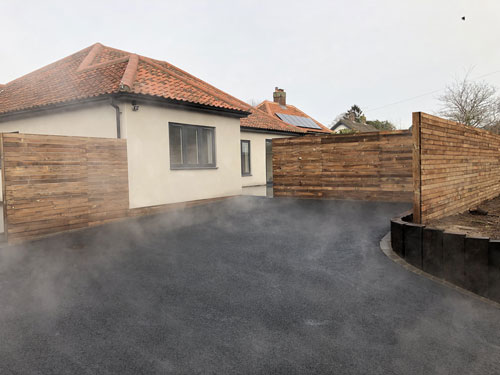 Completed SMA driveway - Aylsham