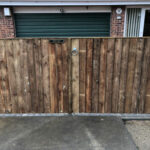 New closeboard entrance gates - Swainsthorpe, Norwich