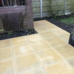 Buff 600x600 patio slabs 2 - Swainsthorpe, Norwich