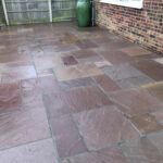 Modak patio area - Swainsthorpe, Norwich