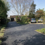 Tarmac driveway with Silver decorative stone - Norwich
