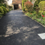 Tarmac driveway with Silver decorative stone 2 - Norwich
