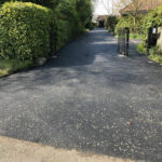 Tarmac drive and silver stone rolled in - Norwich