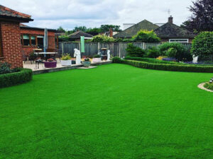 Laid artificial grass - Thorpe, Norwich