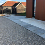 Natural Grey Pebble Stone driveway 2 - Norwich, Norfolk