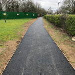 Finished tarmac pathways 2
