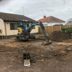 Digging for the foundations - Costessy