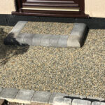 Completed equinox resin step - Costessey