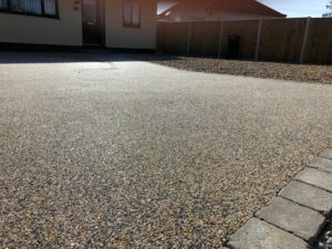 Completed equinox resin driveway 2 - Costessey